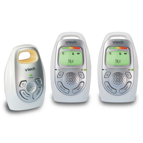 VTech DM223-2 Safe&Sound® Digital Audio Baby Monitor with Two Parent Units - image 2 of 2