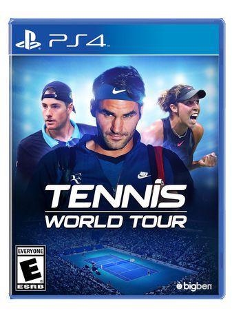 Tennis World Tour [PS4] - image 1 de 1