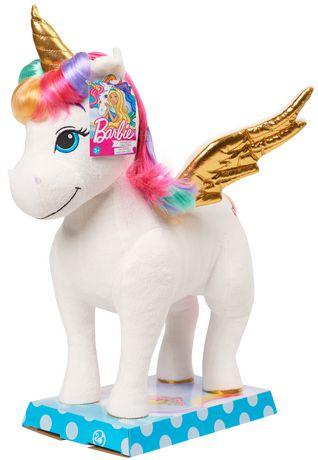 Barbie dreamtopia rainbow unicorn walmart canada - Barbie licorne ...