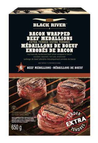 Black River Bacon Wrapped Beef Medallions | Walmart Canada
