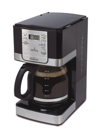Sunbeam Programmable Coffee Maker Manual : Sunbeam 12- Cup Programmable Coffee Maker - BVSBJWX27-033 Walmart.ca