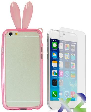 Exian Case for iPhone 6 - Bunny Ears - image 1 of 2