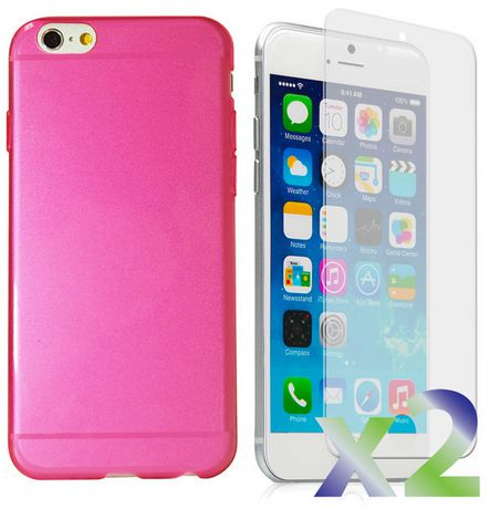 Exian Transparent Case for iPhone 6