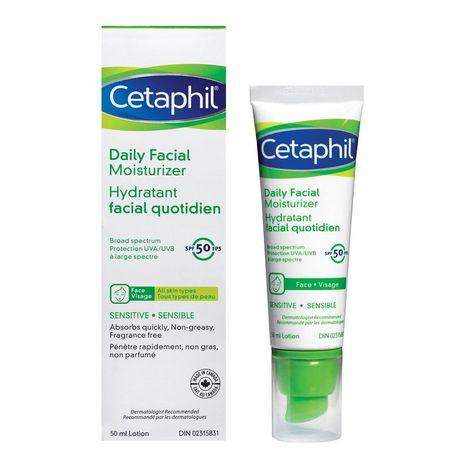 Cetaphil Daily Facial Moisturizer Spf 50 - image 1 of 3