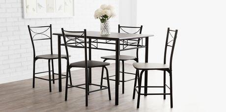 mainstays metal dining set | walmart.ca