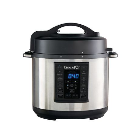 Crock-Pot 6Qt 8-in-1 Multi-Use Express Pot Programmable Pressure Cooker - image 1 of 8
