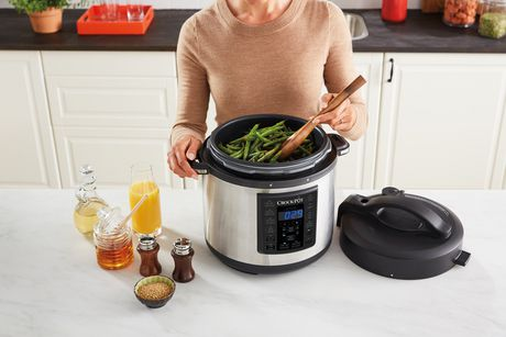 Crock-Pot 6Qt 8-in-1 Multi-Use Express Pot Programmable Pressure Cooker - image 6 of 8