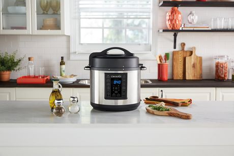 Crock-Pot 6Qt 8-in-1 Multi-Use Express Pot Programmable Pressure Cooker - image 8 of 8