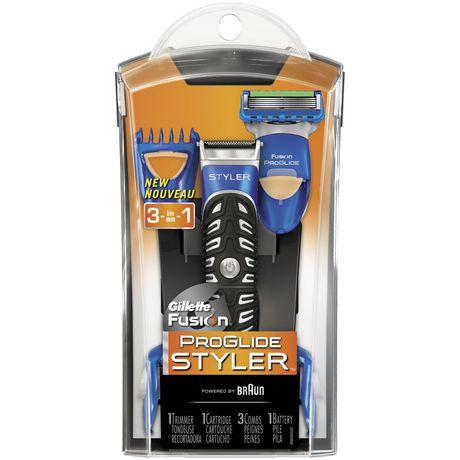 Gillette Fusion ProGlide Styler 3-in-1 Men's Body Groomer with Beard Trimmer - image 1 of 9