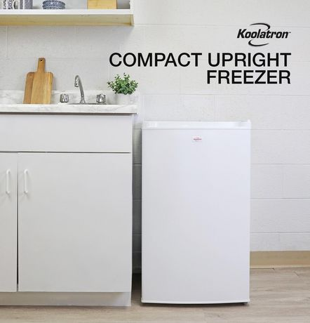 Koolatron KTUF88 3.1 Cubic Foot (88 Liters) Upright Freezer with Adjustable Thermostat - image 3 of 4