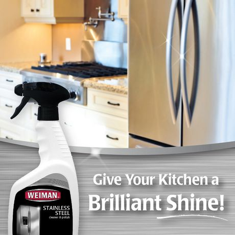 Weiman Stainless Steel Cleaner & Polish with Trigger - image 3 of 4