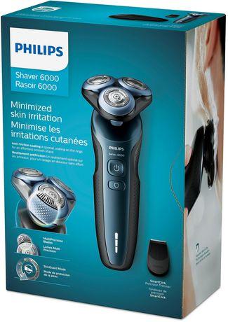 Philips Rasoir Serie 6000 avec Tondeuse Précision, S6610/11 - image 1 de 6