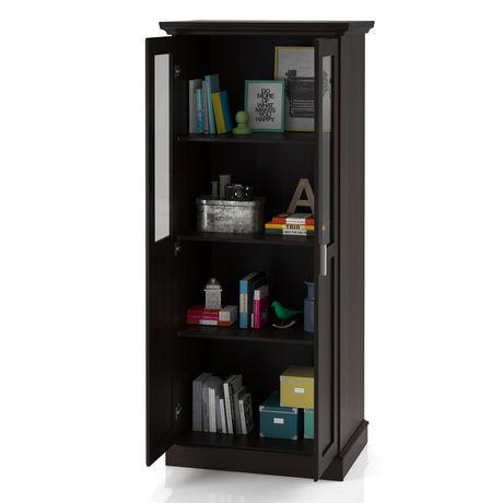 Home Trends Glass Door Wardrobe/Multi Purpose Storage Cabinet