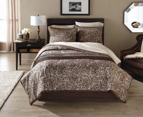 Hometrends Bed In A Bag 8 Piece Wild Cat Walmart Canada