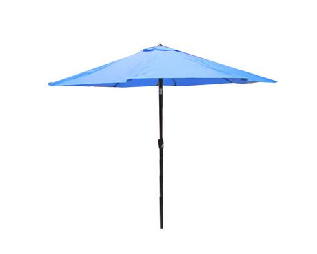 parasol de march henryka de 9 pi en bleu walmart canada. Black Bedroom Furniture Sets. Home Design Ideas