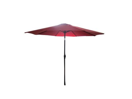 parasol de march henryka de 9 pi en rouge walmart canada. Black Bedroom Furniture Sets. Home Design Ideas