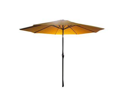 parasol de march henryka de 9 pi en jaune. Black Bedroom Furniture Sets. Home Design Ideas