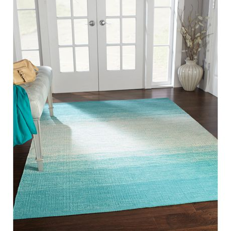 Home Trends Area Rug 4 Ft 11 In X 6 Ft 9 In Turquoise