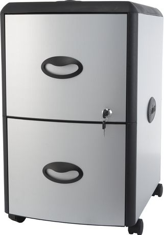 Storex Metal/Plastic Filing Cabinet with Hard Top | Walmart Canada