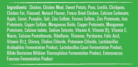 VitaLife Natural Diets Dog Food Chicken & Sweet Potato Grain Free Formula - image 2 of 3