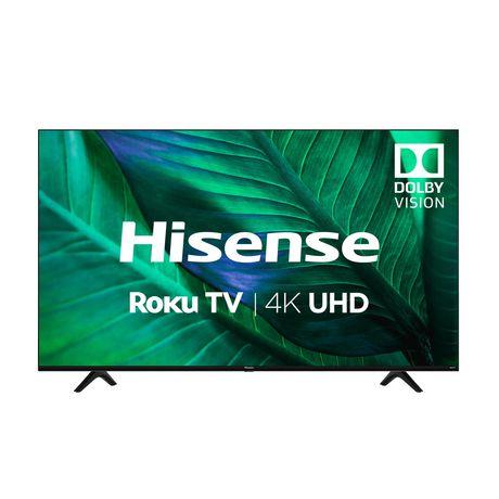 """Hisense 58"""" Class 4K UHD LED Roku Smart TV, 58R6009"""