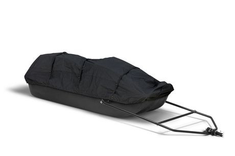 Equinox Trail Boggan Cargo Sled with Premium Canvas Cover - image 2 of 2