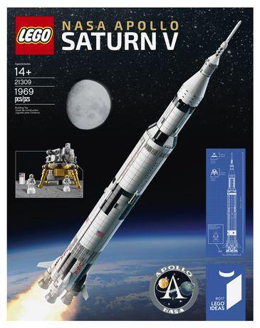 LEGO Ideas NASA Apollo Saturn V 21309 Building Kit - image 4 of 5