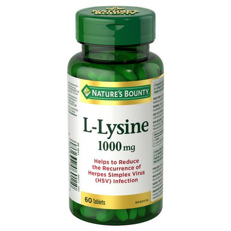 l lysine herpes