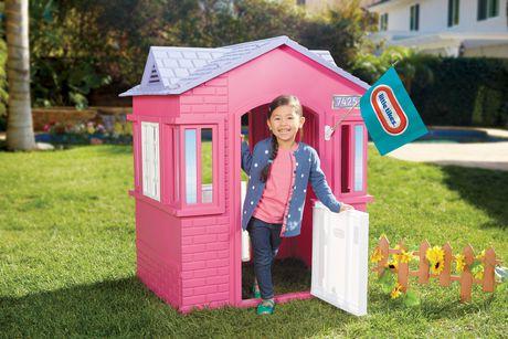 Little Tikes 174 Princess Cottage Playhouse Pink Walmart