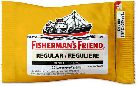 Pastilles antitussives reguliere de Fisherman's Friend - image 1 de 1