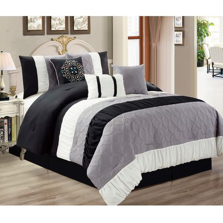Safdie Amp Co Home Deluxe Collection Black 100 Polyester