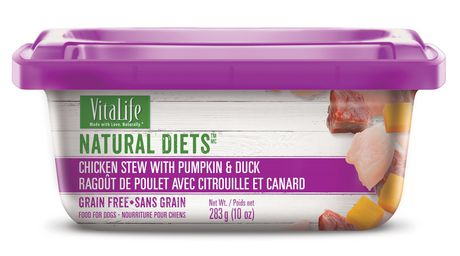 VitaLife Natural Diets Dog Food Chicken Stew with Pumpkin & Duck - image 1 of 7