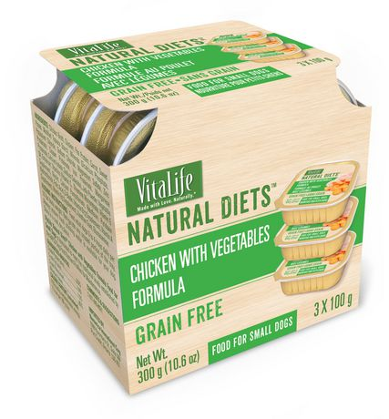 VitaLife Natural Diets Small Dog Food Chicken & Vegetables Grain Free Formula - image 1 of 1