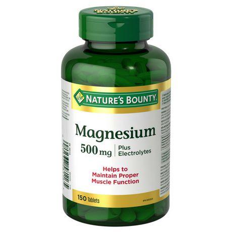 Nature's Bounty Magnesium plus Electrolytes - image 1 of 2