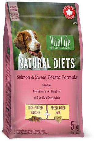 VitaLife Natural Diets Dog Food Salmon & Sweet Potato Grain Free Formula - image 1 of 1