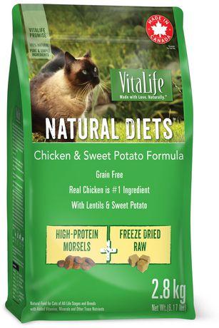VitaLife Natural Diets CAT Food Chicken & Sweet Potato Grain Free Formula - image 1 of 1