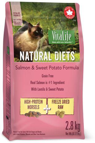 VitaLife Natural Diets CAT Food Salmon & Sweet Potato Grain Free Formula - image 1 of 1