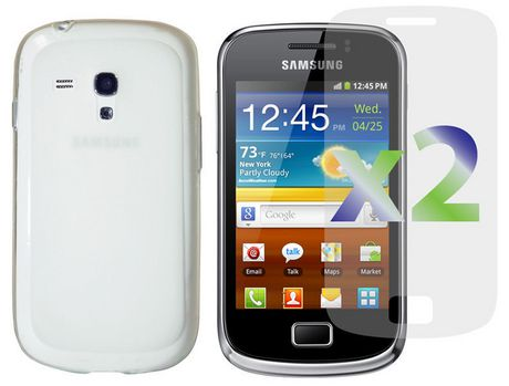 Exian TPU Transparent Case for Samsung Galaxy Ace 2X - image 1 of 1