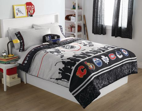 Licensed Nhl Comforter Set Twin Double Walmart Ca