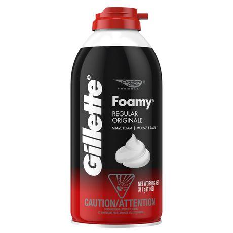 Crème à raser originale Gillette Foamy - image 1 de 7