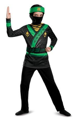 LEGO Ninjago Lloyd Child Jumpsuit Costume | Walmart Canada