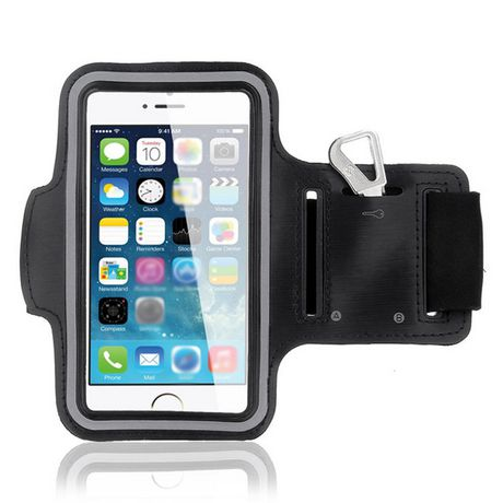 first rate a891e 6a027 Exian Arm Band for iPhone 6 Plus/7 Plus in Black