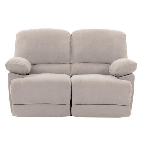 Fabulous Corliving Lea Beige Chenille Fabric Reclining Loveseat Alphanode Cool Chair Designs And Ideas Alphanodeonline