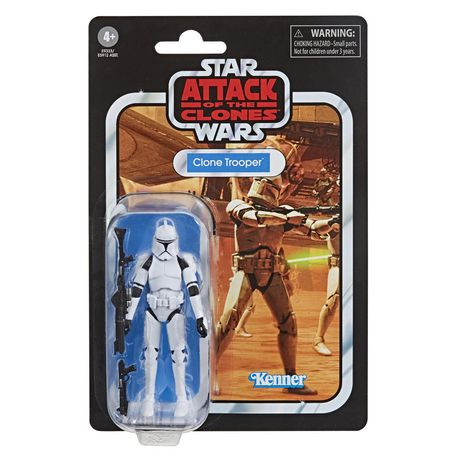Clear Clone Trooper * Star Wars Abatons
