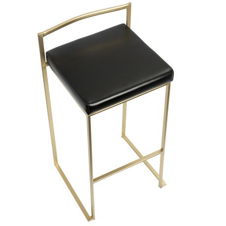 tabouret de bar contemporain fuji de lumisource. Black Bedroom Furniture Sets. Home Design Ideas