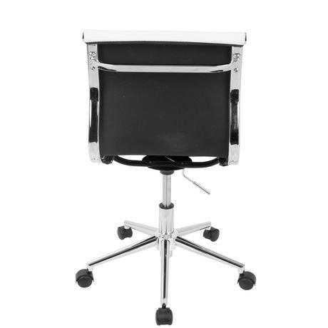 chaise de travail ajustable sans bras contemporaine master de lumisource walmart canada. Black Bedroom Furniture Sets. Home Design Ideas