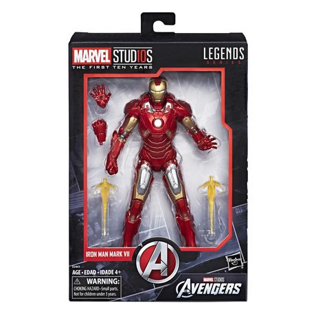 Marvel Studios: The First Ten Years - The Avengers - Iron Man Mark VII - image 1 de 2