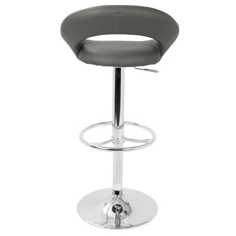 tabouret de bar ajustable contemporain posh de lumisource. Black Bedroom Furniture Sets. Home Design Ideas