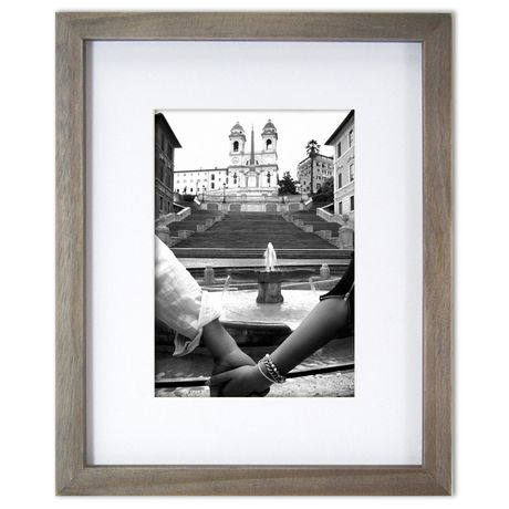 hometrends rustic gallery 8 x 105 x 7 photo frame walmartca