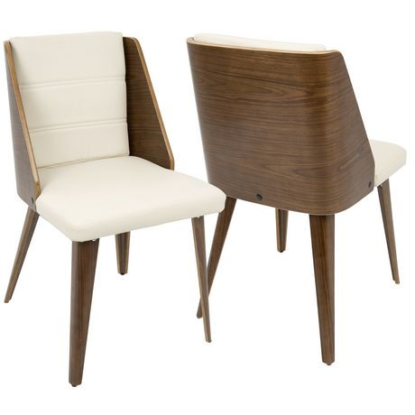 Chaise de salle manger moderne milieu du si cle galanti for Chaise de salle a manger walmart